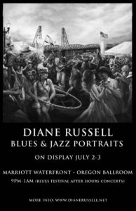 Diane Russell's - Portraits of Blues & Jazz Musicians