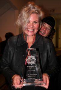 Karen Lovely - Performance of the year.