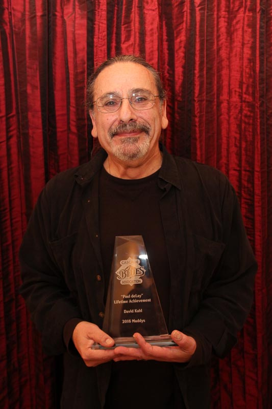 "Dave Kahl - ""Paul deLay"" Lifetime Achievement Award."