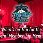 What's on Tap for August's General Membership Meeting