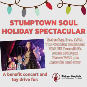 4th Stumptown Soul Holiday Spectacular