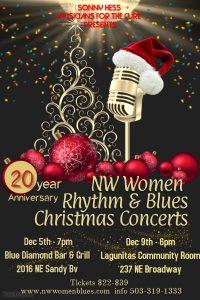 NW Women Rhythm & Blues Christmas Concerts