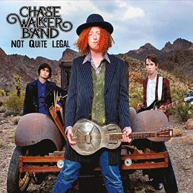 Chase Walker Band CD Not Quite Legal