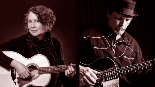 Acoustic Blues with Mary Flower and Thad Beckman