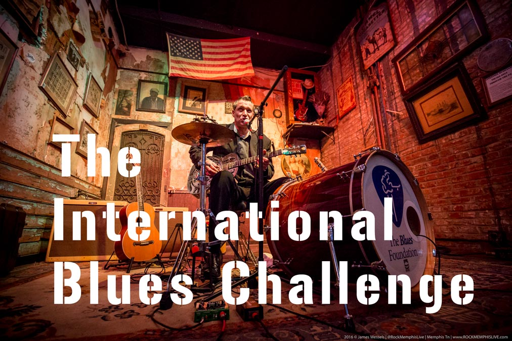 Return to the International Blues Challenge
