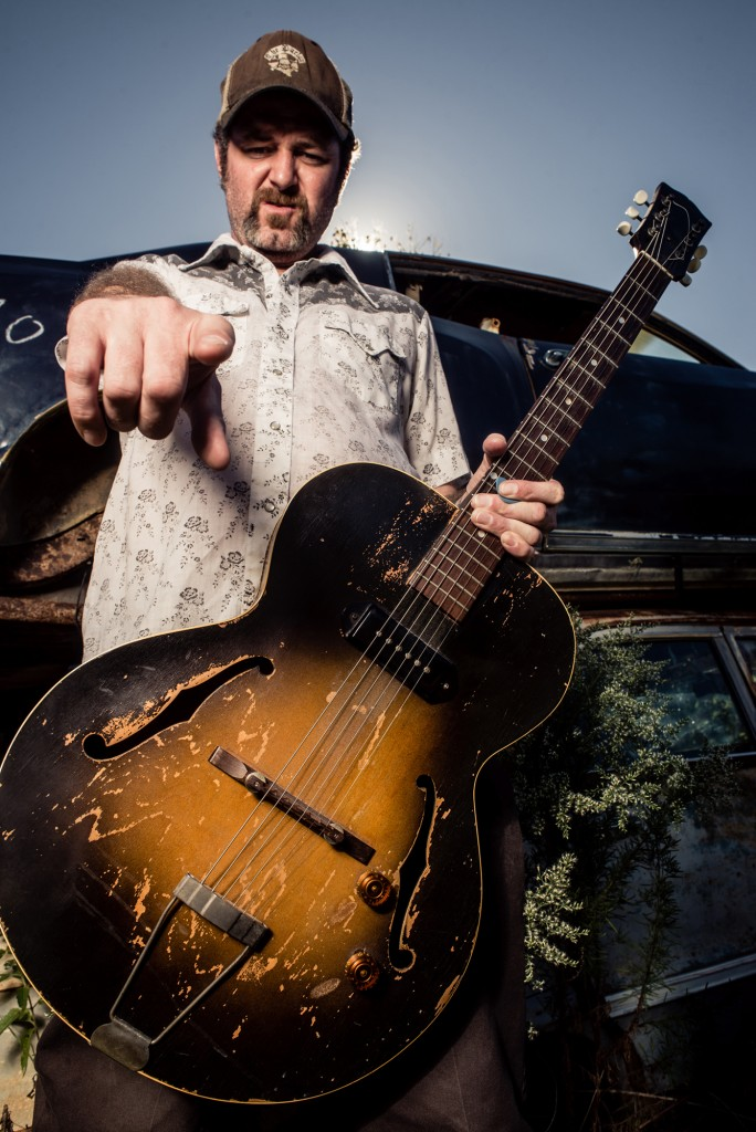Texas One Man Band Scott H Biram invades Dante's
