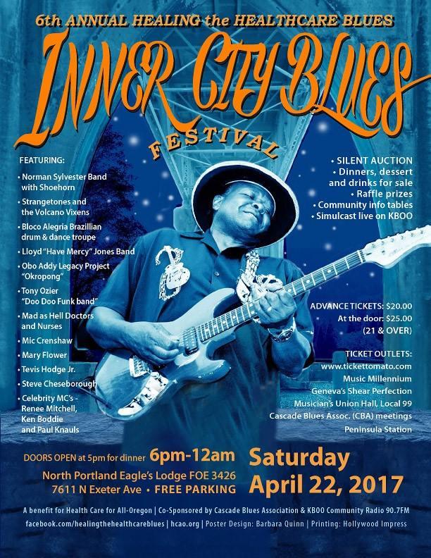 "2017 Inner City Blues Festival — ""Healing the Healthcare Blues"""