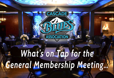 What's on Tap for November's General Membership Meeting