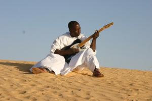 Malian Blues Rocker Vieux Farka Toure