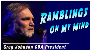 Ramblings On My Mind - March 2019