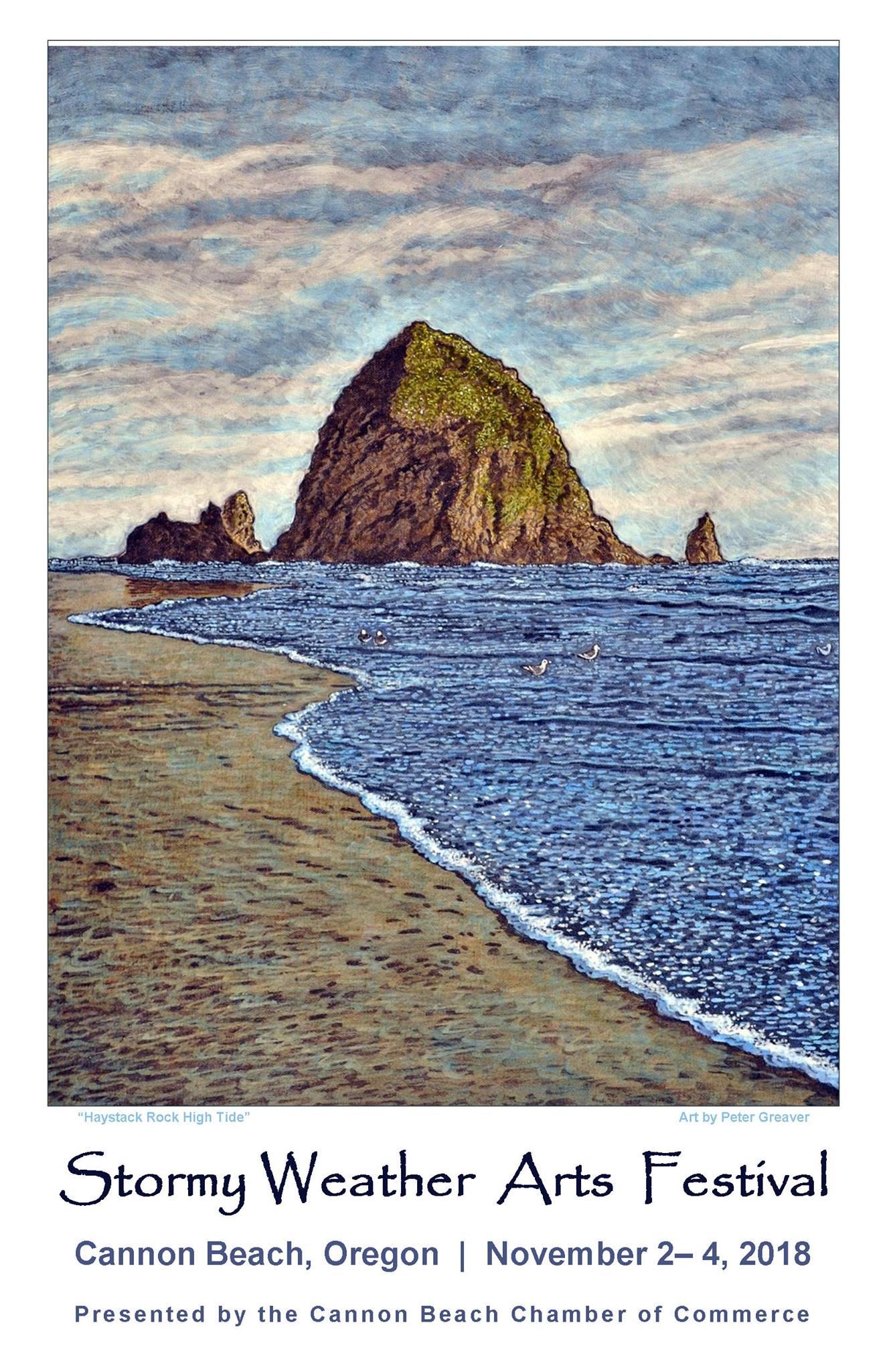 Oregon Blues Greats Headline Cannon Beach Stormy Weather Art Festival