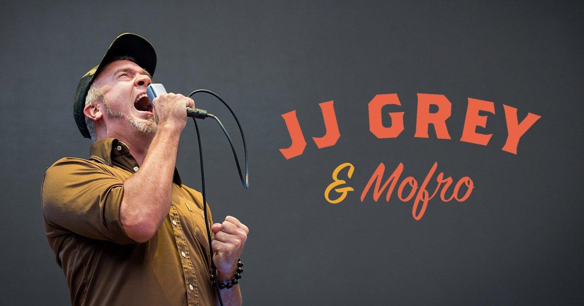 JJ Grey & Mofro Visits The Crystal Ballroom