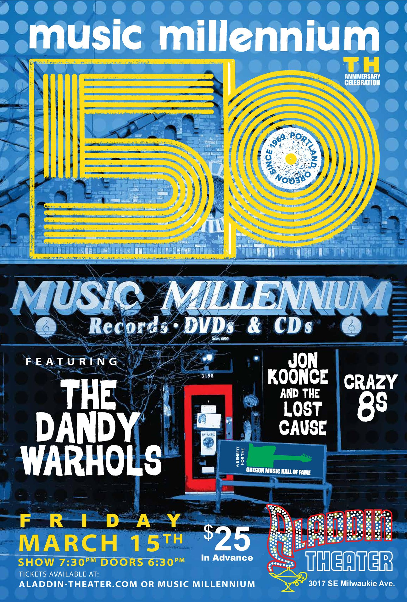 Music Millennium's 50th Anniversary