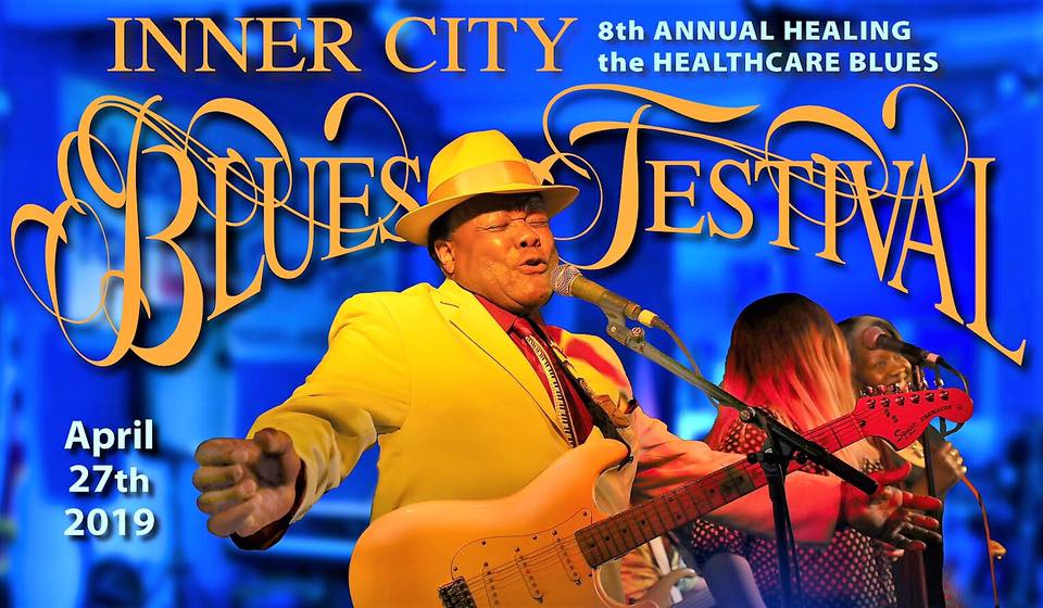 the Eighth Annual Inner City Blues Festival