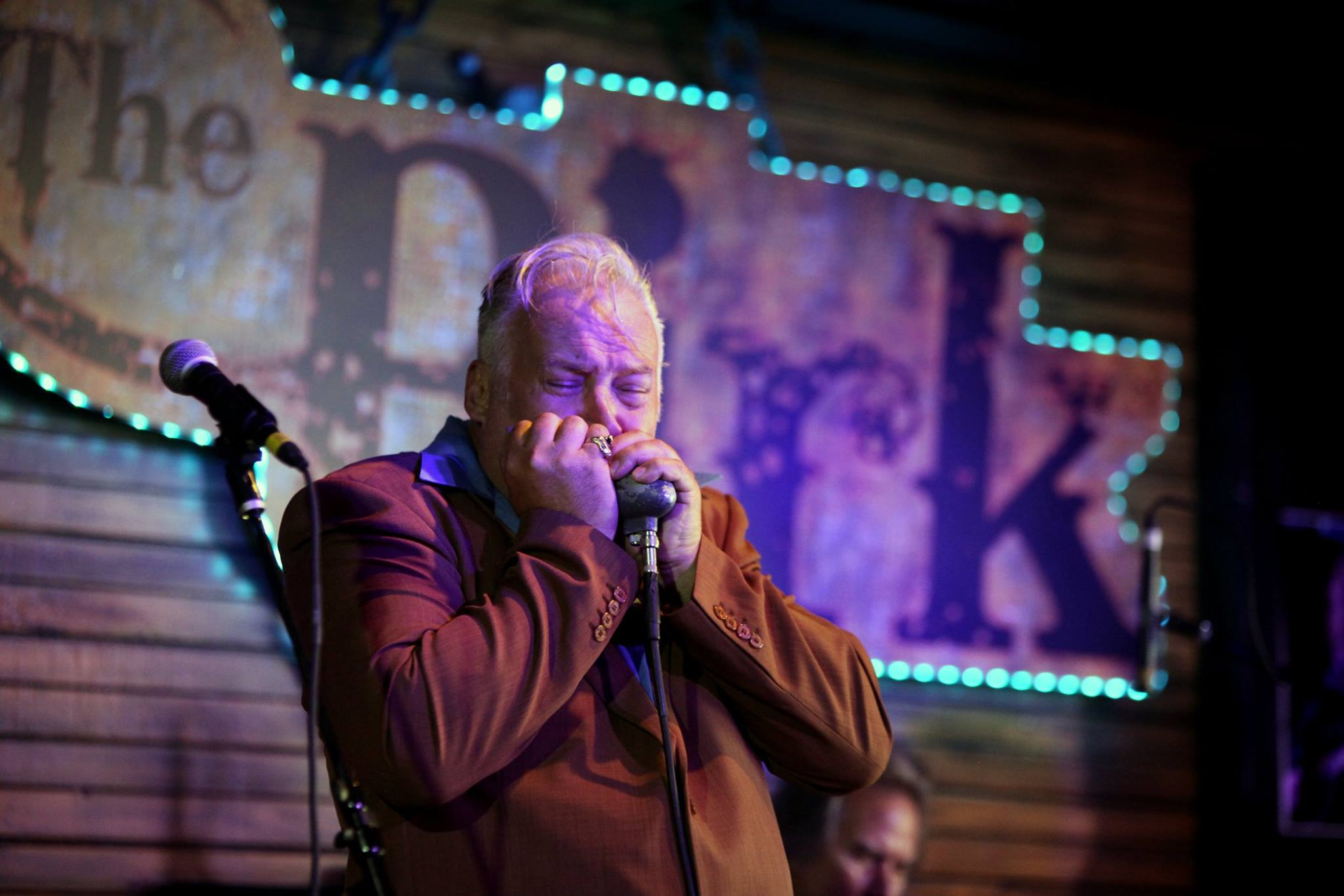 Harmonica Ace John Clifton Celebrating New CD at Catfish Lou's
