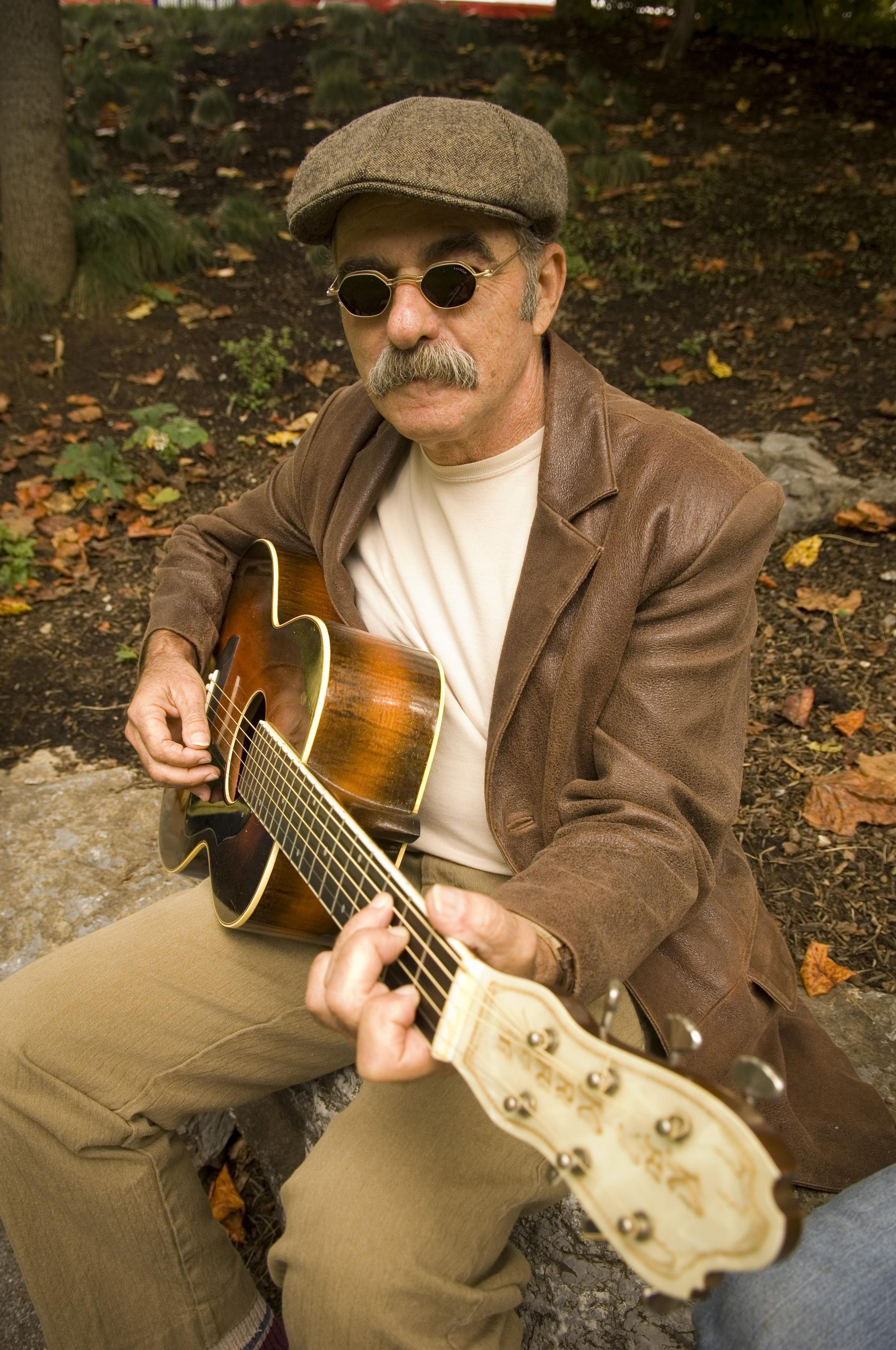 Roy Book Binder, Authentic Blues Troubadour