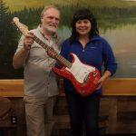 CBA Autographed Guitar Winner