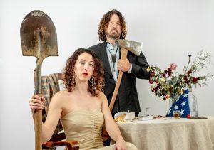 Julie Amici and Dean Mueller photo by Trav Williams of Broken Banjo