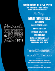 3rd Annual Peninsula Rhythm & Blues Festival