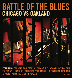 Various Artists – Battle of the Blues Chicago vs Oakland