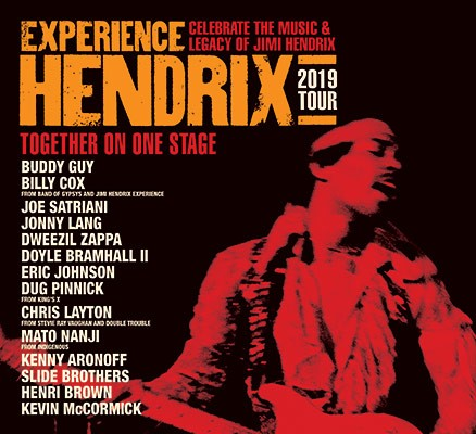 Experience Hendrix – Celebrating the Music and Legacy of Jimi Hendrix