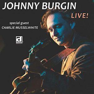 Johnny Burgin CD cover