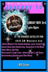 Journey To Memphis Winners