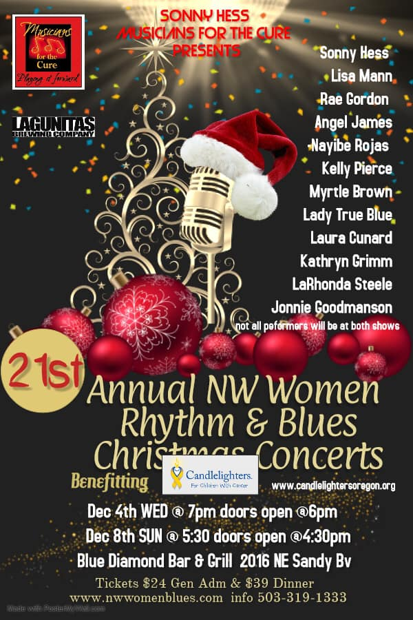 NW Women Rhythm & Blues Christmas Concerts