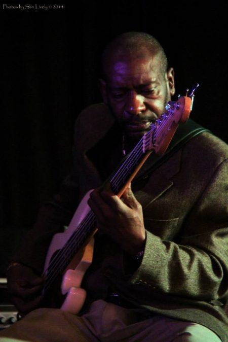 Bassist Randy Monroe