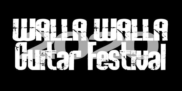 9th Annual Walla Walla Guitar Festival