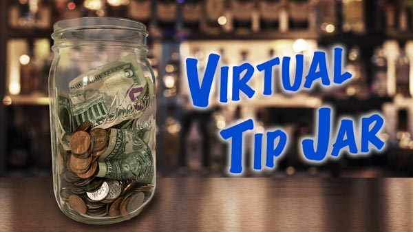 virtual tip jars