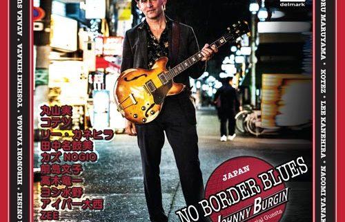 Johnny Burgin CD No Border Blues