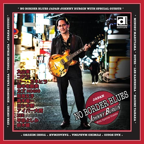 Johnny Burgin CD No Border Blues