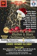 23rdAnnual NW Women Rhythm & Blues Christmas Concerts