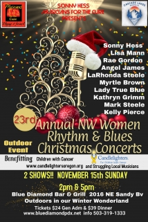 23rd Annual NW Women Rhythm & Blues Christmas Concerts