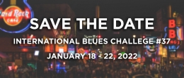 Save the Date - The International Blues Challenge #37