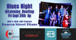 Blues Nights - Lovejoy Rooftop at the Botanist
